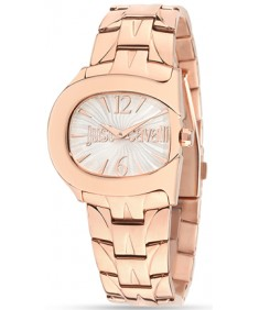 JUST CAVALLI BELT Rose Gold Women's Watch
