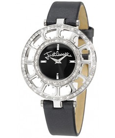 JUST CAVALLI MULTILOGO Black Women's Watch