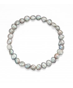 Grey Freshwater Cultured Bracelet