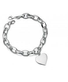 Heart Charm Link 18.5Cm Bracelet