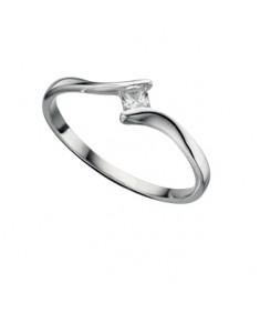 Clear Cz Diamond Shape RinG
