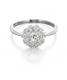 Cz Cluster Ring