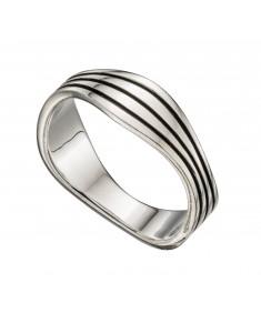 Wavy Band Ring