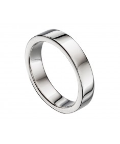 Flat Mens Band Ring