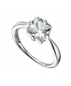 52 Clear Cz Square Ring