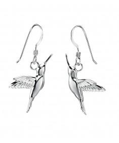Hummingbird Drop Earring
