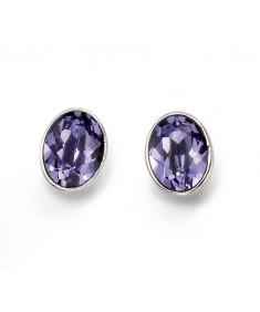 Swarovski Crystal Oval Stud Earrings