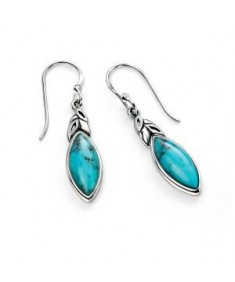 Turquoise Leaf Shape Earring