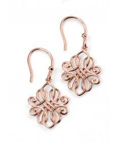 Rose Gold Plated Filigree Earring