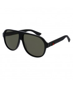 Gucci Men's Aviator Sunglasses GG0009S 001 59