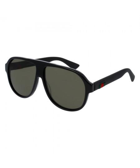 Gucci Men's Aviator Sunglasses GG0009S 001 59