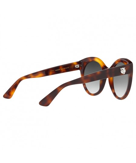 Gucci Women's Oversize cat eye Sunglasses GG0028S 002 52