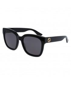 Gucci Women's Square-frame Sunglasses GG0034S 001 54