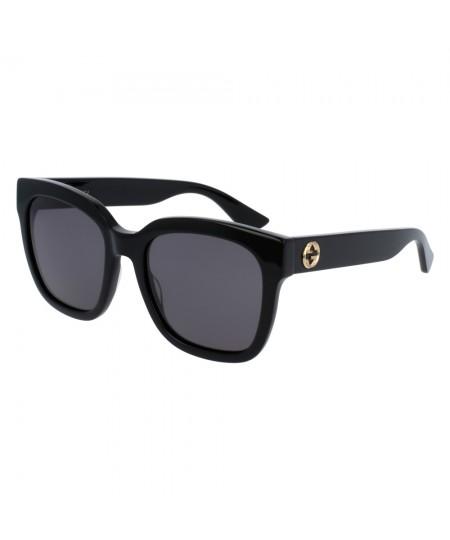Gucci Women's Square-frame Sunglasses GG0034S 001 54
