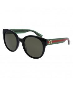 Gucci Women's Round-frame Sunglasses GG0035S 002 54