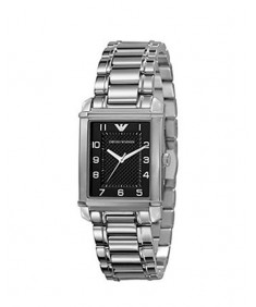 Emporio Armani Women's Silver Stainless Steel Quartz Watch AR0494