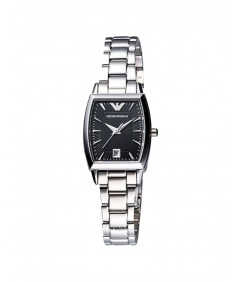 Emporio Armani Women's Black Dial Wristwatch AR0939