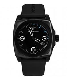 Emporio Armani Black Rubber Men's watch AR5887