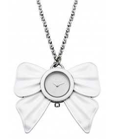 Oasis Ladies White Necklace Watch B1000