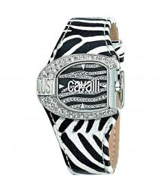 Just Cavalli Women's black and white watch