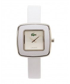 Lacoste White Leather Women's watch