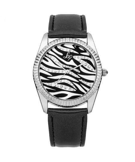 Ladies Lipsy Black Watch  lp154